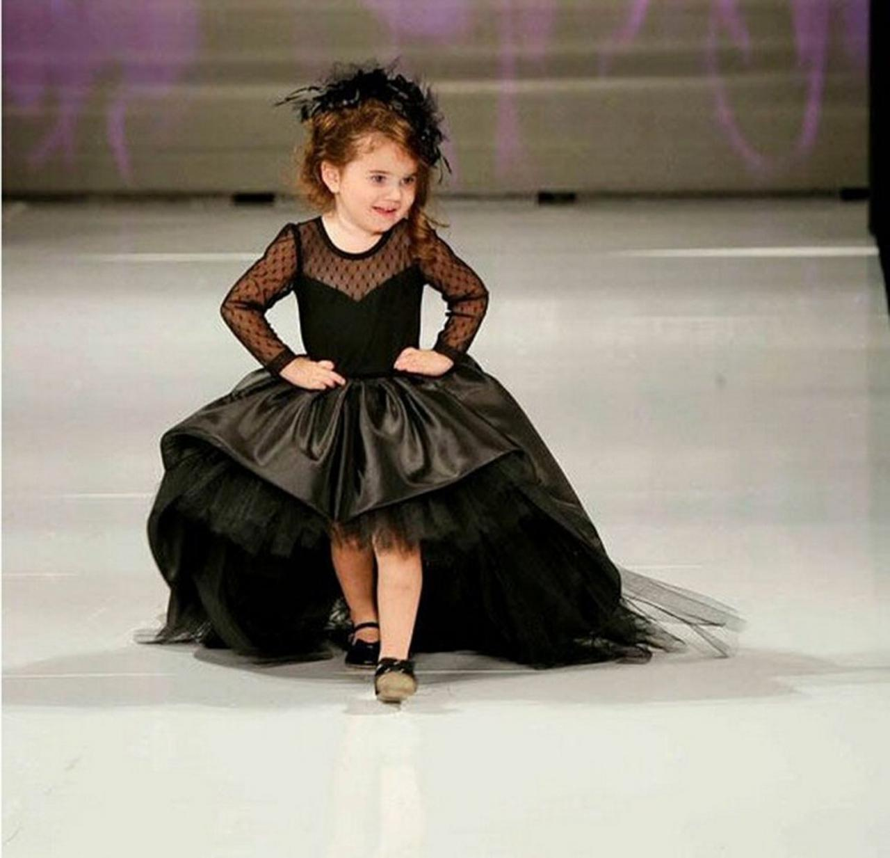 Black Pageant Dresses for Girls