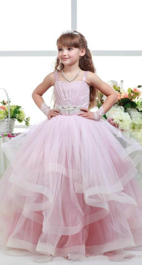 Lovely Lace Flower Girls Dresses Knee-Length Crew Sleeveless Zipper Back  Summer Style Lace Flower Girls Dresses Fashion dbcda2242132